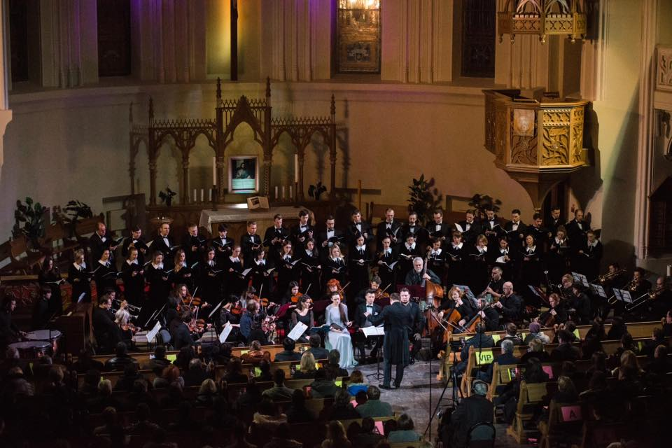 """Instrumental Capella"" and MRP's Choir: Mozart's Requiem at Peter and Paul Cathedral"